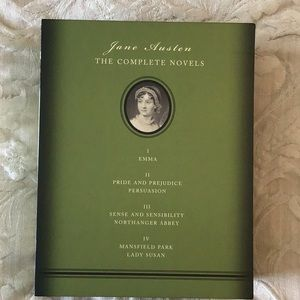Box set of Jane Austen novels.